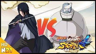 naruto ninja storm 4 road to boruto demo full boss fight adult sasuke vs kinshiki nillo21