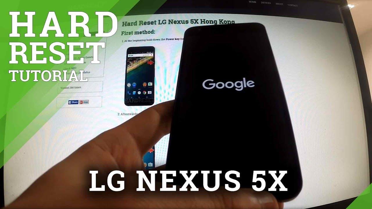 Hard Reset HUAWEI Nexus 6P International - HardReset info