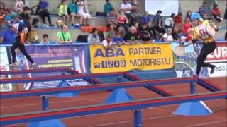Mistrovství České republiky   100m Chlupáčová Tereza 2  pokus