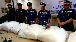 20th time unlucky for drug syndicate, nabbed with RM10.5m worth of methamphetamine