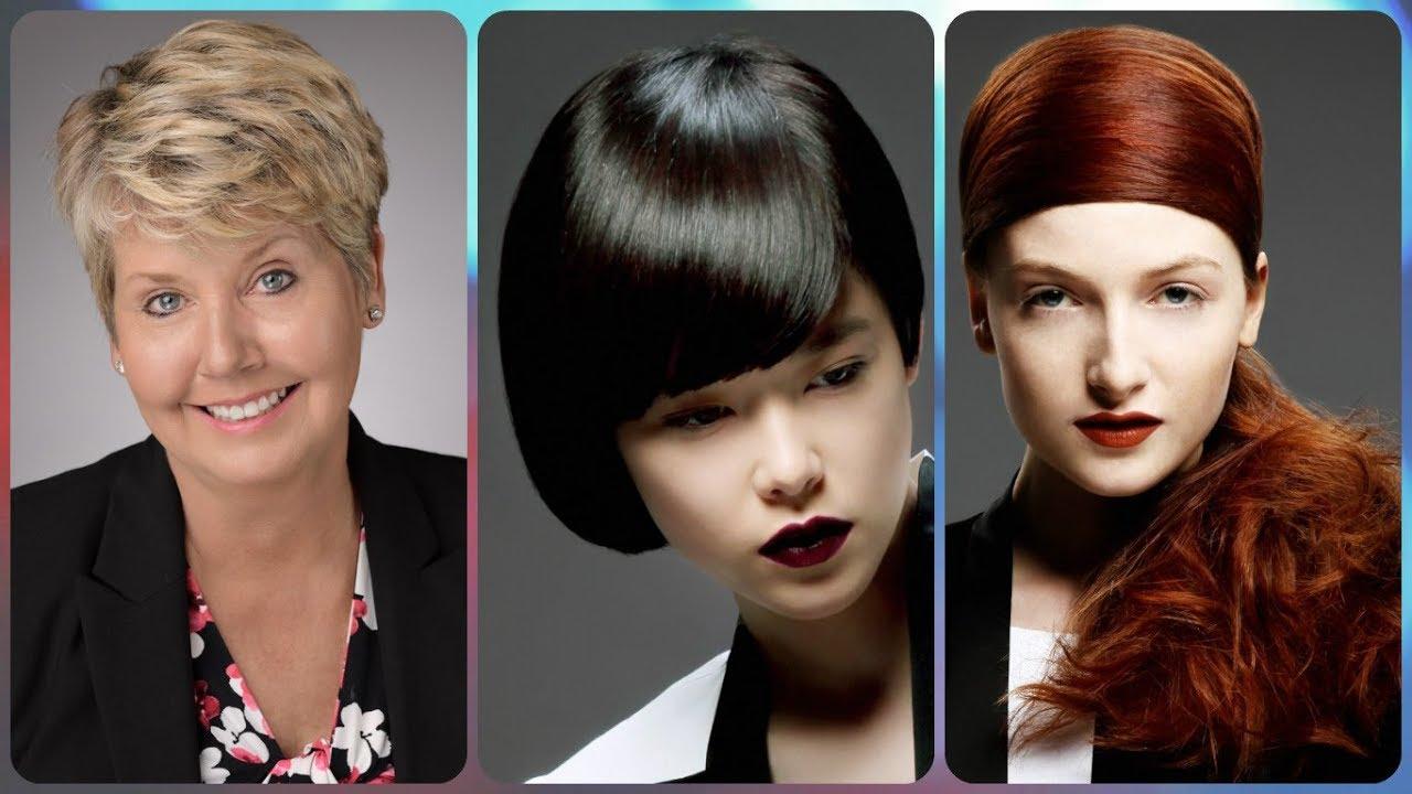 Top 20 Modele De Coafuri Frunte Lata Youtube