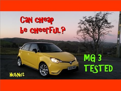 MG 3 Full Road Test Review – Can Cheap Be Cheerful? – Old Top Gear style