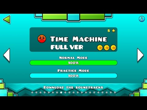 Geometry Dash - Time Machine (FULL VER) All Coin / ♬ Partition