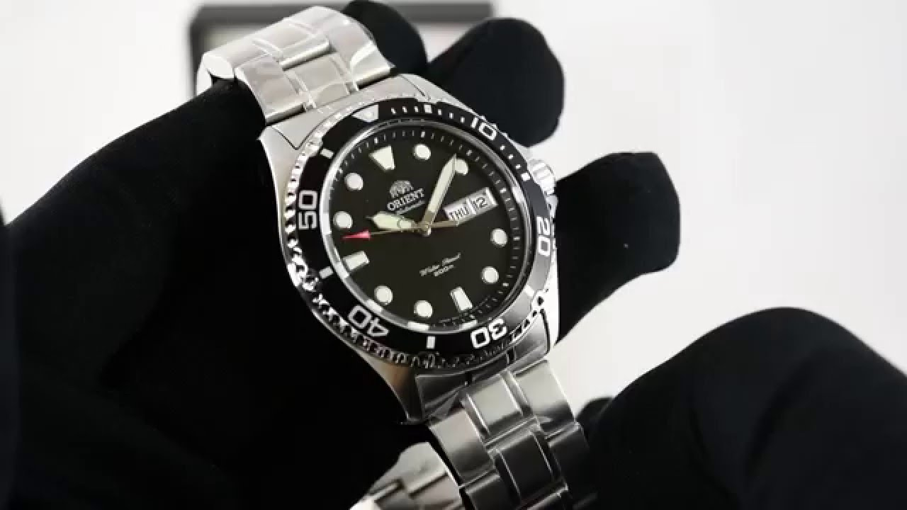Orient Faa02004b Ray Ii Youtube
