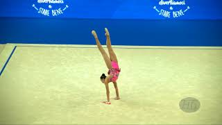 ASHIRBAYEVA Sabina (KAZ) - 2017 Rhythmic Worlds, Pesaro (ITA) - Qualifications Clubs