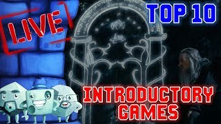 Top 10 Introductory Games