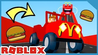 Escape McDonalds In Roblox