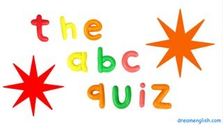 ABC Fun Kids Letter Quiz: Letters A to G