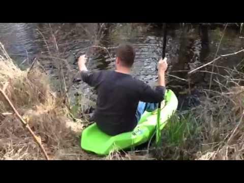 Kids Kayak Water Test
