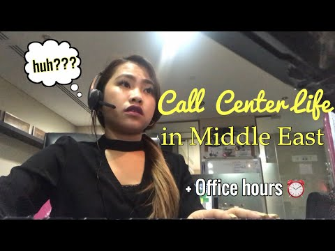 BUHAY CALL CENTER AGENT IN ABU DHABI, UAE + A Day in my work