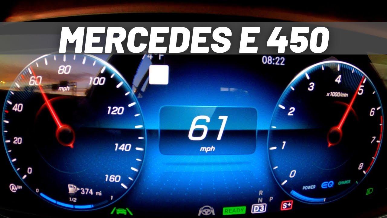 2021 Mercedes-Benz E 450 | ACCELERATION