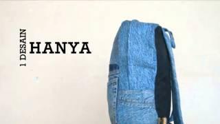 Celana menjadi tas ! Papercut Backpants vid 2