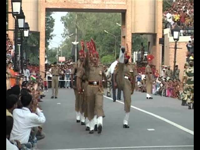 womens prade at wagah Travel Video
