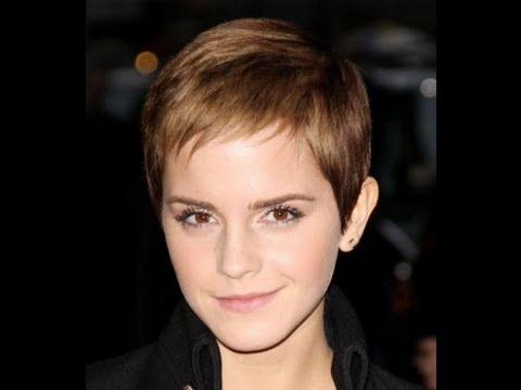 Emma Watson Pixie Crop Hair Tutorial Taylor Taylor London With Ashley White Clothes Show Tv Youtube