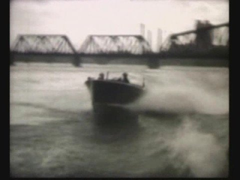DART BOATS AT TOLEDO & PUT-IN-BAY, 1928 FILM