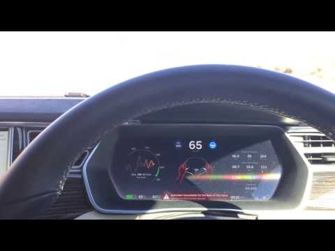 What happens when you fall asleep with your Tesla on Autopilot