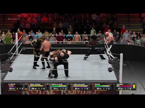 WWE 2K17 How Royal Rumble should be played