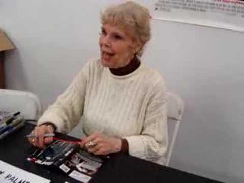 Betsy Palmer at Friday the 13th convention streaming vf