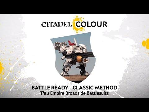 How To Paint: T'au Empire Broadside Battlesuits – Classic Method