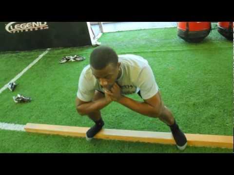 2x4 Balance Training With Eric Berry