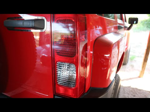 Hummer tail light bulb replacement