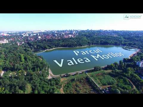 EXPLORE Aerial View of Chisinau City Parks, Republic of Moldova (East Europe)