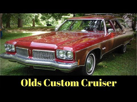 1973 Oldsmobile Custom Cruiser Station Wagon Family Truckster Back Story