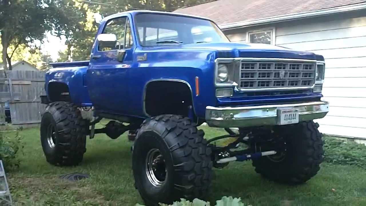1978 chevy truck 4x4 mud truck update 9/06/2011 - YouTube