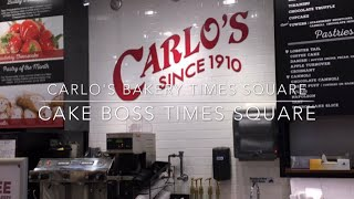 Carlo's Bakery Times Square | Cake Boss | New York
