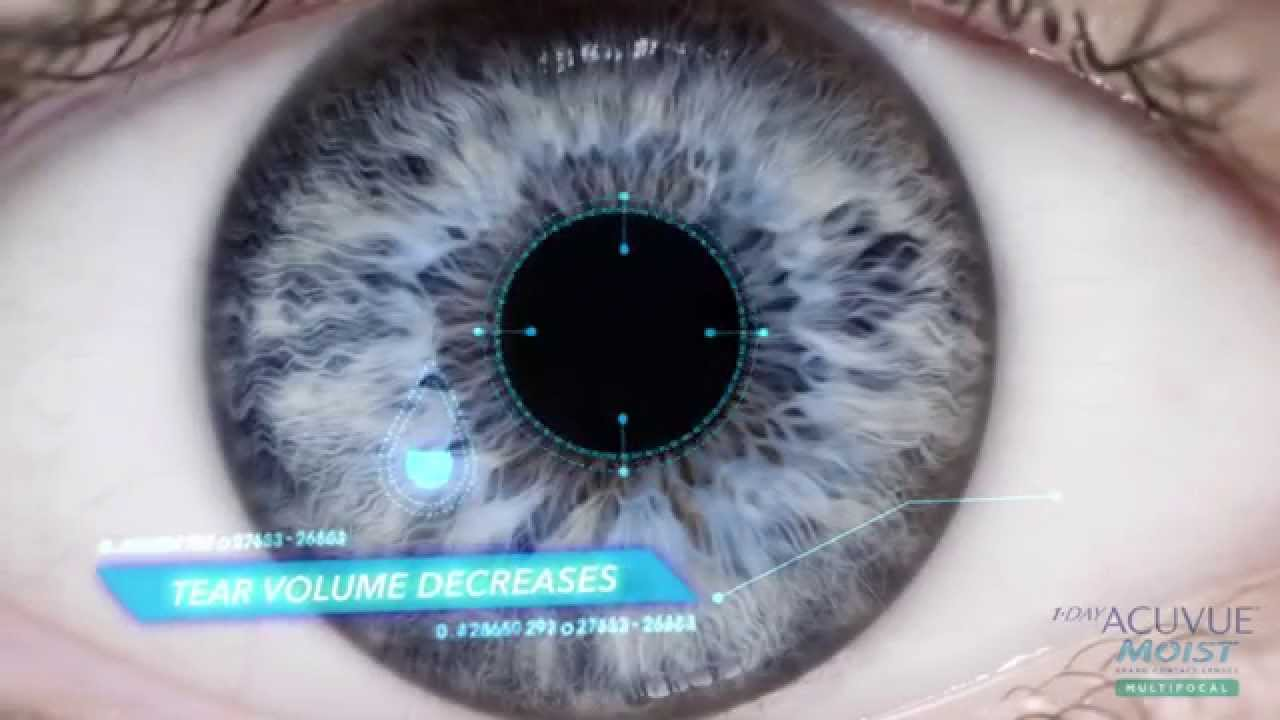 1 Day ACUVUE® Moist Brand Contact Lenses Multifocal image