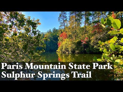Paris Mountain State Park - Greenville, SC Hikes - Sulphur Springs Trail