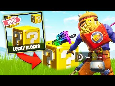 *NEU* LUCKY BLOCKS BATTLE in FORTNITE!