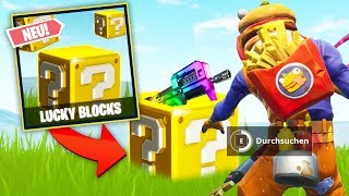 *NEU* LUCKY BLOCKS BATTLE in FORTNITE!