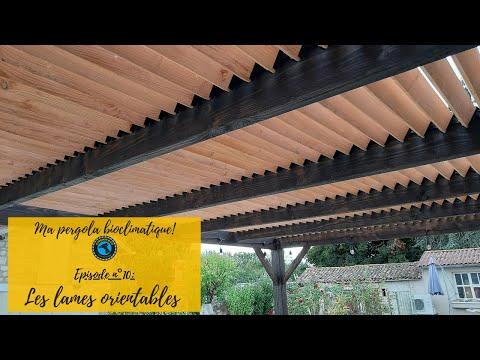 🔨🔨🔨MA PERGOLA BIOCLIMATIQUE - Ép. n°10 - Installation des SAM-KIT et des lames orientables📐📐📐