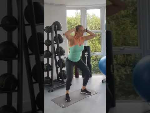 squat knee tuck rs  youtube