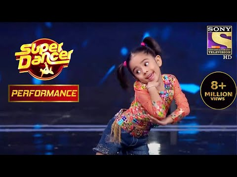 Rupsa Shows Her Best Moves | Super Dancer Chapter 3