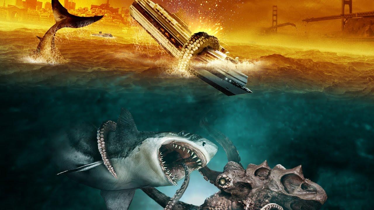 Trailer Mega Shark Versus Giant Octopus