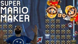 Mario Maker - Super Expert Highlights (Twitch Livestream 10/31/2016)