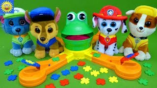 Paw Patrol Toys Best Learning Video for Kids Teaching Colors Counting to 10 Mr Mouth Frog Games