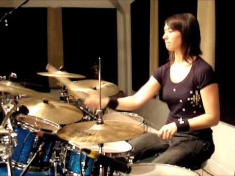 Emmanuelle Caplette on drum: Tampoltan (June 2009)