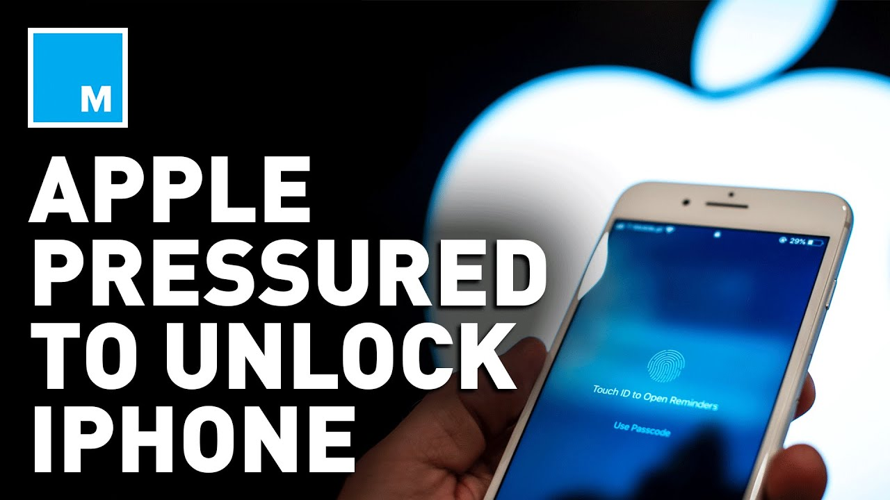U.S. Gov't Pressures Apple To UNLOCK iPhone