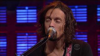 Jason Mraz - I Won't Give Up (feat. Mona Tavakoli) (Live on Letterman 02-16-2012) [HD 1080p]