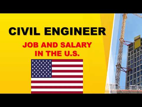 Civil Engineer Salary In The United States - Jobs And Wages In The United States