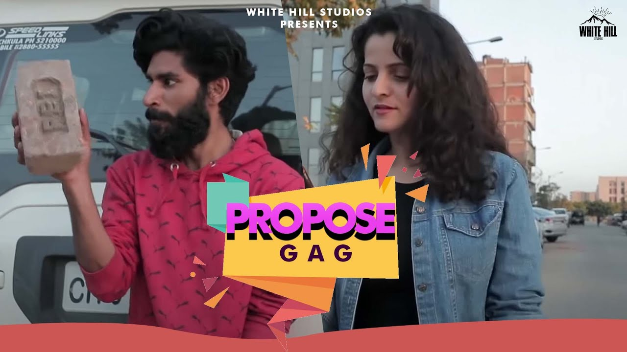 Propose GaG   Funny Gags   White Hill Entertainment
