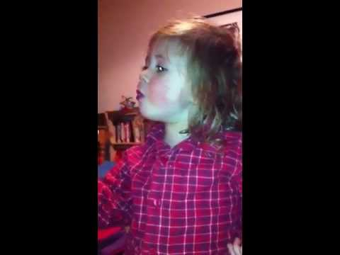 Poppy learning to gargle