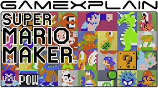 Super Mario Maker - NES Remix Event Level Playthrough!