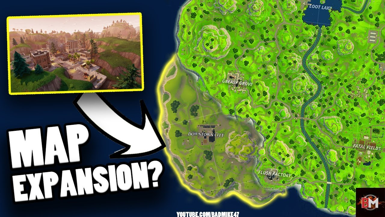 new city map expansion fortnite city map location fortnite battle royale