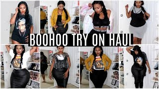 Boohoo Try-On Haul Back to School | Plus- Size, Curvy