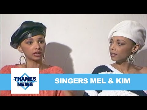 Singers Mel & Kim | Thames News