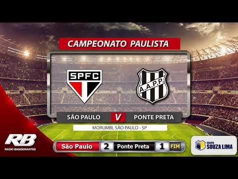 ?Campeonato Paulista - São Paulo X Ponte Preta - 1°/03/2020 - AO VIVO